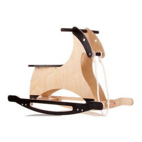 Drewniany konik na biegunach