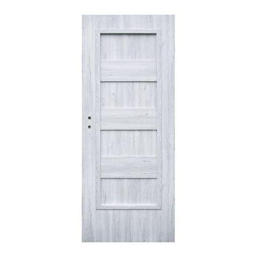 Winfloor Drzwi pełne kastel 80 prawe silver (5907539385460)