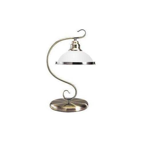 Rabalux Lampa lampka oprawa stołowa elisett 1x60w e27 brązowa 2752