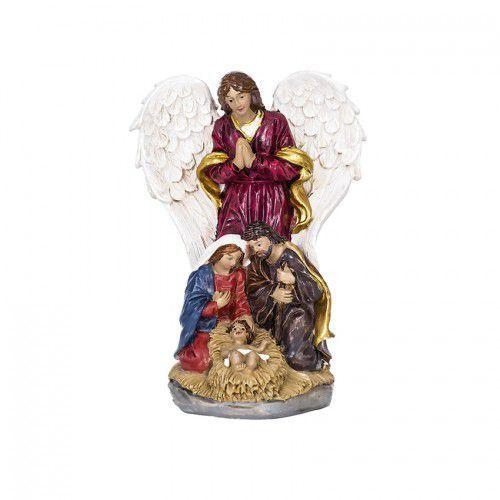 Produkt polski Figura święta rodzina z aniołem - boże narodzenie
