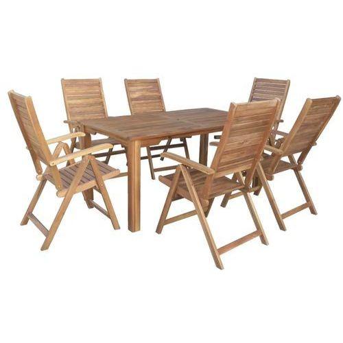 Hecht leader set meble ogrodowe zestaw mebli ogrodowych stół + 6 krzeseł drzewo akacja - ewimax oficjalny dystrybutor - autoryzowany dealer hecht marki Hecht czechy