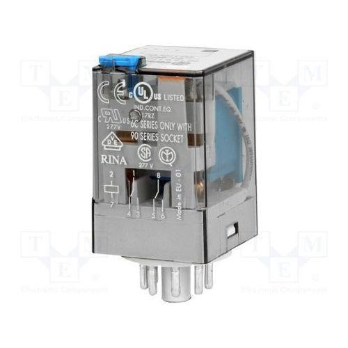 Przekaźnik 2CO 10A 125V DC Finder 60.12.9.125.0060 (8012823081151)