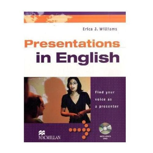 Presentations in English, Student's Book w. DVD (9783190228843)