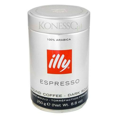 Illy Espresso 250g kawa mielona w puszce czerwona