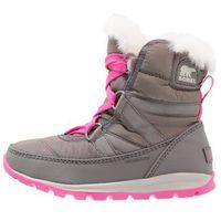 Sorel WHITNEY SHORT LACE Botki sznurowane quarry/pink ice (0190540674257)