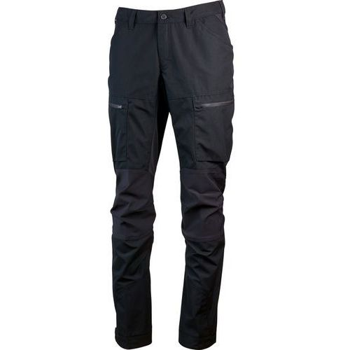 lockne spodnie długie mężczyźni czarny eu 54 | xl 2018 spodnie turystyczne marki Lundhags