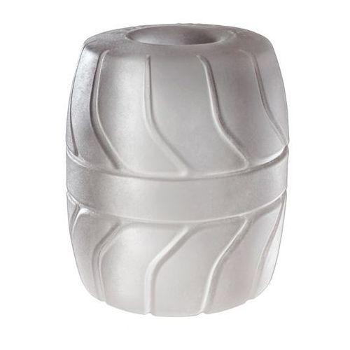 Pierścień na jądra - Perfect Fit SilaSkin Ball Stretcher przezroczysty
