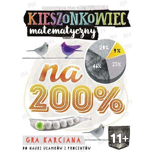 Edgard Kieszonkowiec matematyczny na 200% (11+) - anna grabek, bożena dybowska (9788377887929)