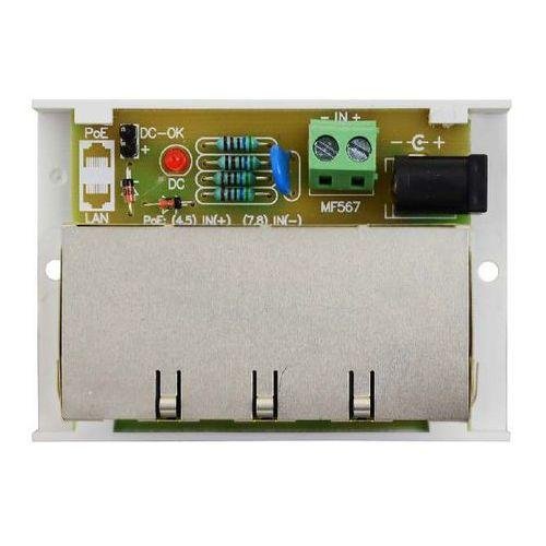 Awz613 moduł dystrybucji zasilania do kamer ip (poe) kątowy poe4/4x1a/1,5  marki Pulsar
