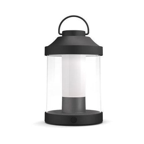 Philips Abelia portable 17360/30/p0 lampka przenośna led czarna nowość (8718696161258)