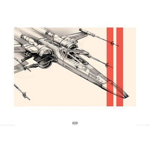 Star Wars The Force Awakens X-Wing - reprodukcja - produkt z kategorii- Pozostałe filmy