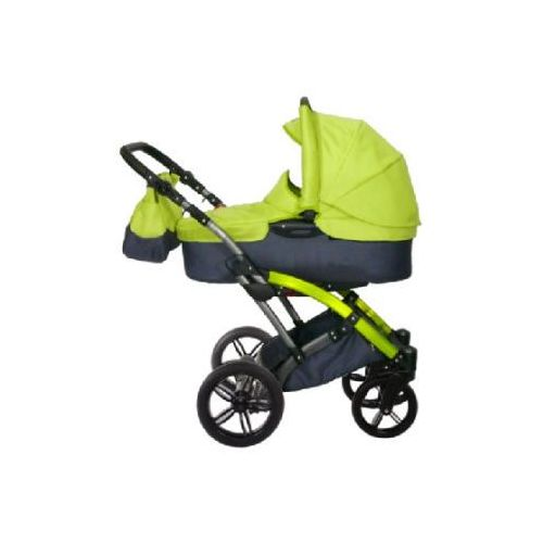 knorr-baby Wózek dziecięcy Voletto Sport czarny-limonkowy (4250341306873)