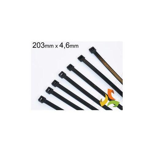 OPASKA KABLOWA CZARNA (100szt) 203x4,6mm z kategorii pozostałe narzędzia