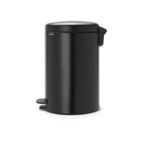 Brabantia Kosz na śmieci pedałowy newicon 20l matowy czarny