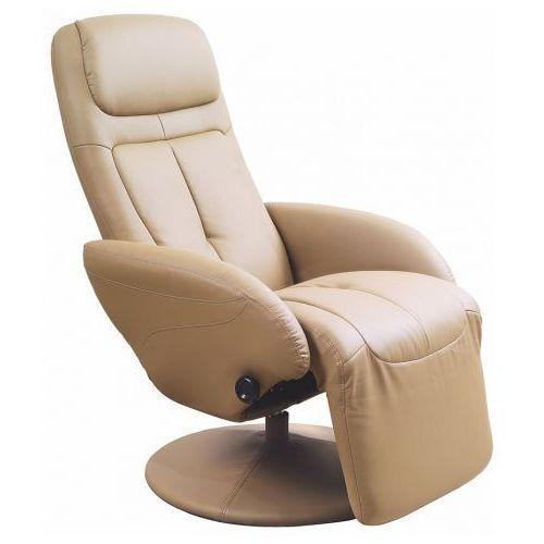 Rozkładany fotel Timos  beżowy