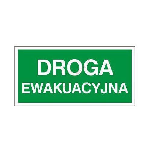 Techem Znak droga ewakuacyjna pf