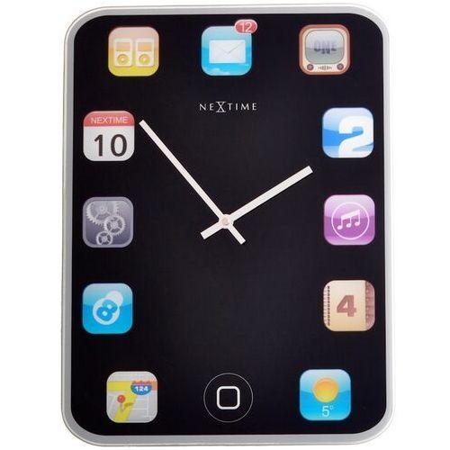Zegar ścienny wall pad 40x30 cm marki Nextime