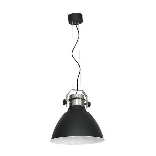 Lampa wisząca zwis żyrandol Luminex Edgar 1x60W E27 grafit 5510, 5510