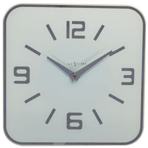 Zegar ścienny Shoko biały, kolor biały
