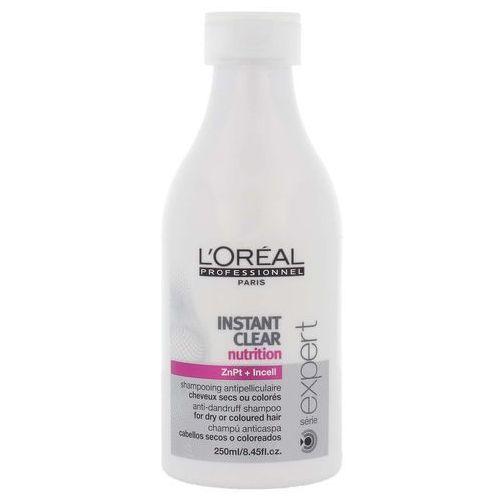 instant clear szampon przeciwłupieżowy do włosów suchych lub koloryzowanych 250ml marki Loreal