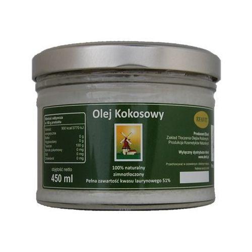 Efavit Olej kokosowy (olej z kokosa) 450ml (5906286515519). Najniższe ceny, najlepsze promocje w sklepach, opinie.