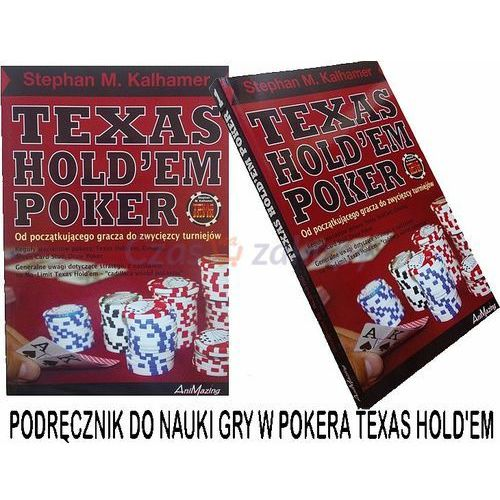 """Animazing podręcznik do nauki gry w pokera """"poker texas hold'em"""" w języku polskim"""