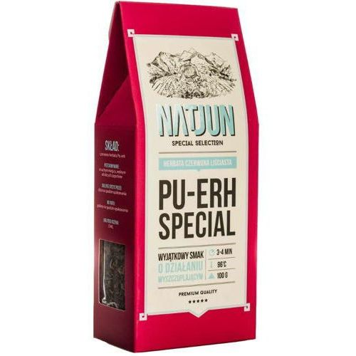 herbata czerwona pu-erh special 100g marki Natjun
