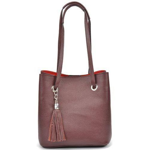 torebka beżowa marki Mangotti