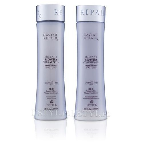 Alterna  caviar repair zestaw do włosów zniszczonych | szampon 250ml + odżywka 250ml (9753197531288)