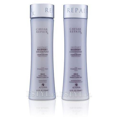 Alterna  caviar repair zestaw do włosów zniszczonych | szampon 250ml + odżywka 250ml