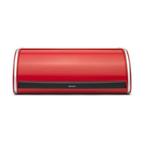 Pojemnik na pieczywo Brabantia duży czerwony Passion (8710755484001)