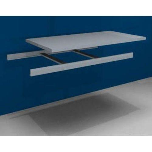 Unbekannt Dodatkowa półka w komplecie z trawersami i półką stalową,szer. 1500 mm