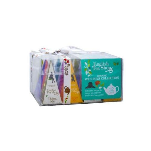 English tea shop Ets bio wellness collection 12 piramidek