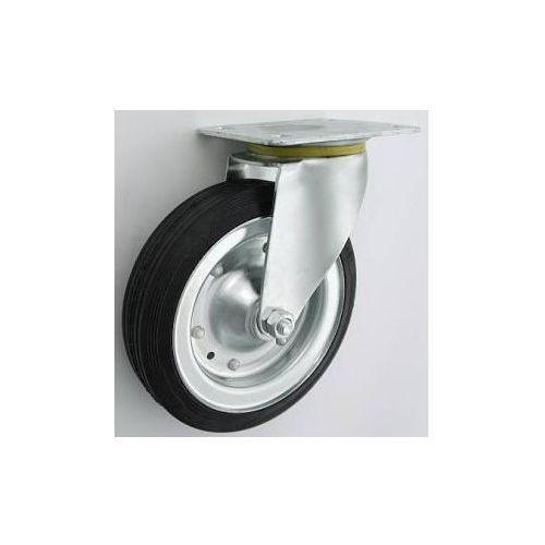 Koło metalowo-gumowe w obudowie skrętnej fi 200, 17FA-353D8_20130323114212