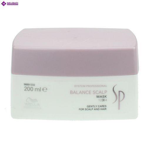 Wella SP Balance Scalp - maska kojąco do wrażliwej skóry głowy 200ml (4015600085544)