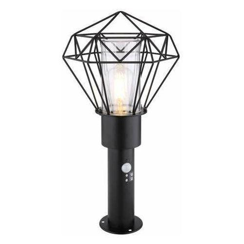 Globo horace 31356s lampa stojąca ogrodowa ip44 1x15w e27 czarna