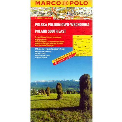 Polska Południowo-Wschodnia. Mapa Marco Polo w skali 1:300 000 (ISBN 9783829737777)