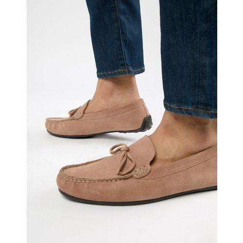 Kg kurt geiger Kg by kurt geiger wide fit ringwood driving shoes in suede - pink