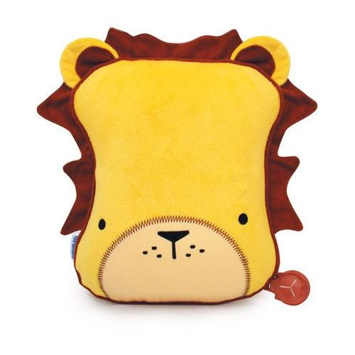 Trunki SnooziHedz Travel Pillow and Blanket - Leeroy the Lion - Yellow (5055192200771)