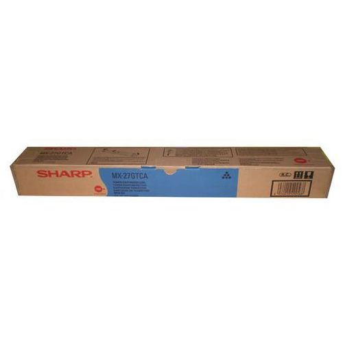 Sharp  oryginalny toner mx-23gtca, cyan, 10000s, sharp mx-2010u, mx-2310u (4974019670119)