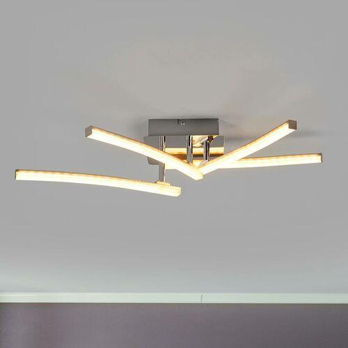 Lampa sufitowa LED Simon z obracanymi ramionami (4043689928728)