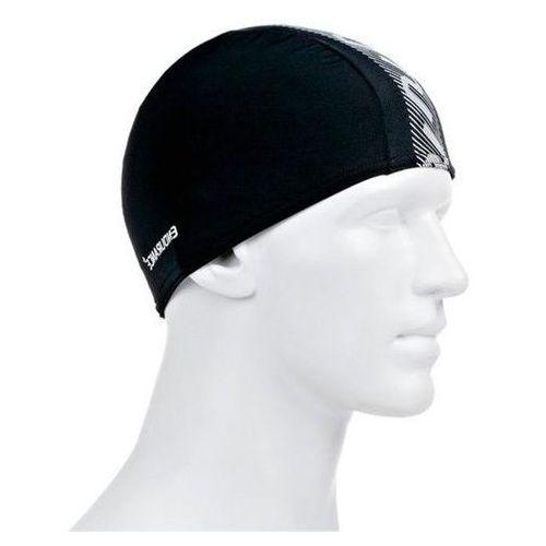 Czepek Speedo Monogram Endurance + Cap black/white (5051746938114)