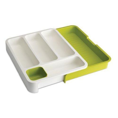 Joseph joseph - organizer do szuflady - biało-zielony - biały