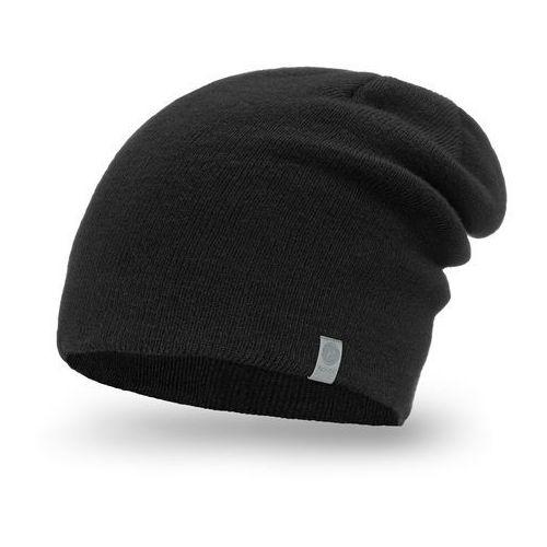 Pamami Męska czapka zimowa 17012/4 - czarny (5902934013499)
