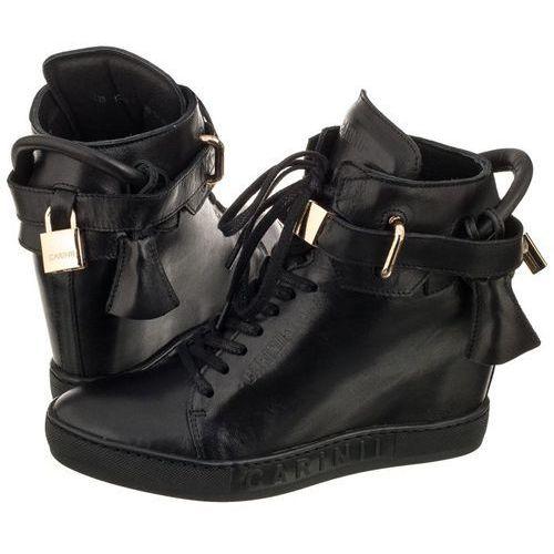 Sneakersy Carinii Czarne B3767/K (CI269-a), B3767/K-E50-000-PSK-B88