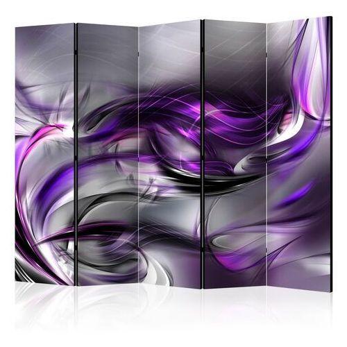 Artgeist Parawan 5-częściowy - purpurowe zawirowania ii [room dividers]
