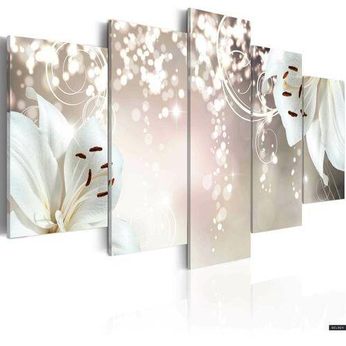 Selsey obraz - magiczna biel 100x50 cm (5902409990607)