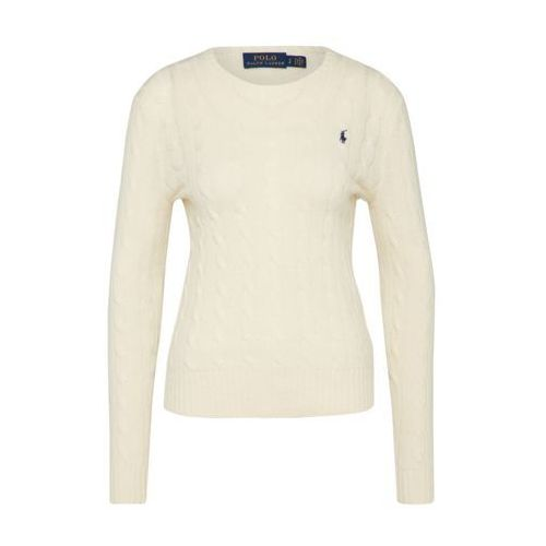 Polo Ralph Lauren JULIANNA Sweter cream, kolor beżowy