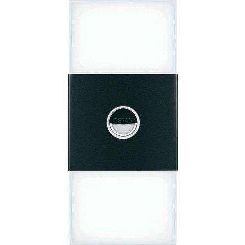 """Osram Lampa ścienna zewnętrzna led """"noxlite double"""" pir  572559, 6x2 w, led wbudowany na stałe, 460 lm, 6000 k, ip44, (dxsxw) 12.3 x 27 x 8.2 cm (4008321960986)"""