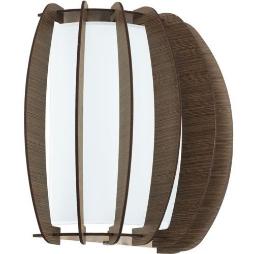 Kinkiet Eglo Stellato 3 95594 lampa ścienna 1x60W E27 nikiel mat / brąz, 95594